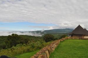 Гледка от ложата в Нгоронгоро