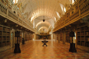 Библиотеката в Мафра
