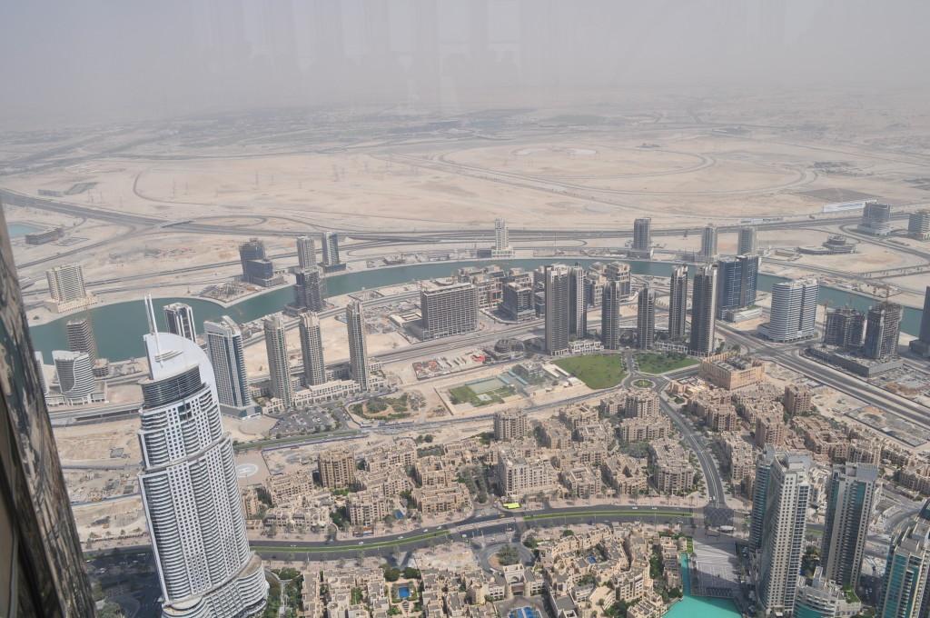 Дубай, погледат от Бурж Халифа
