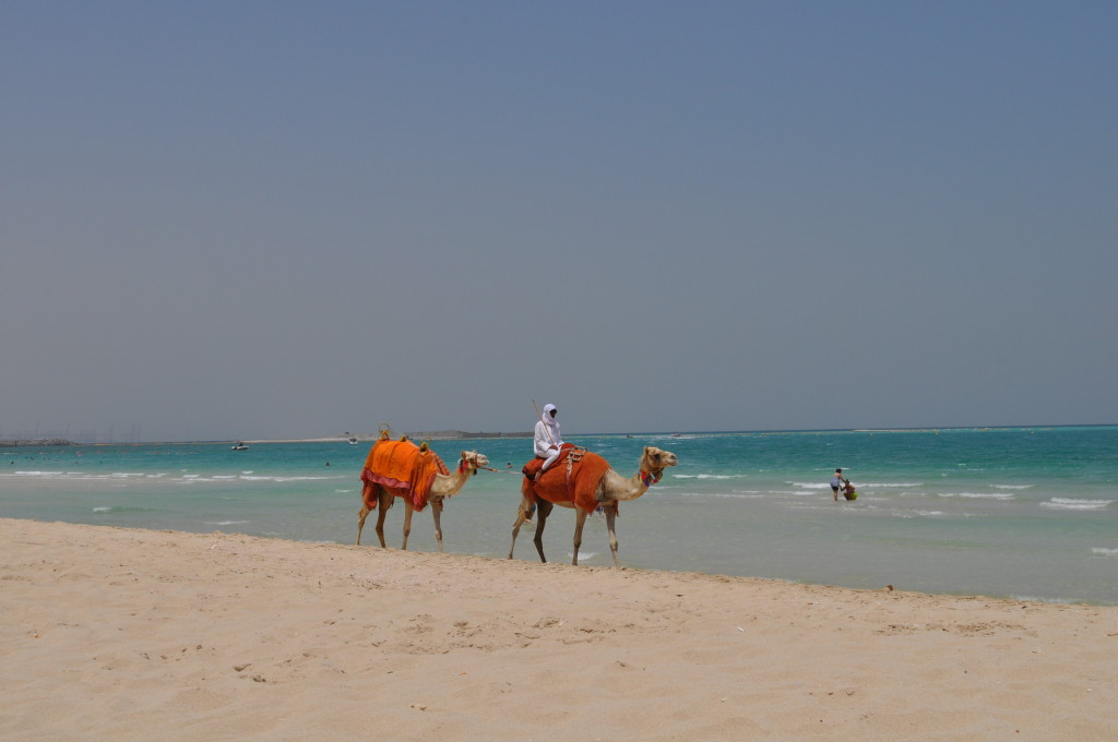 На плажа Джумейра