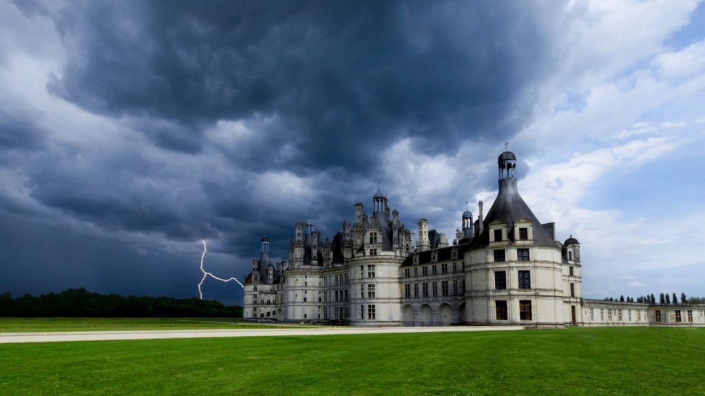 Замъкът Шамбор /an artist impression/