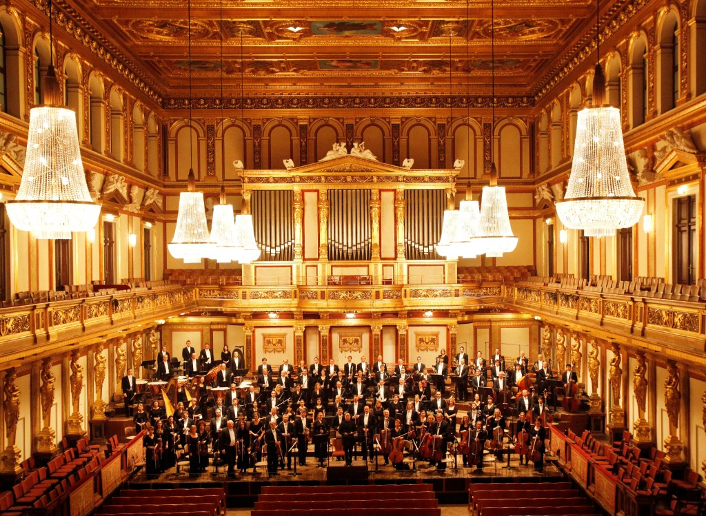 Концерт в Musikverein източник: musikverein.at