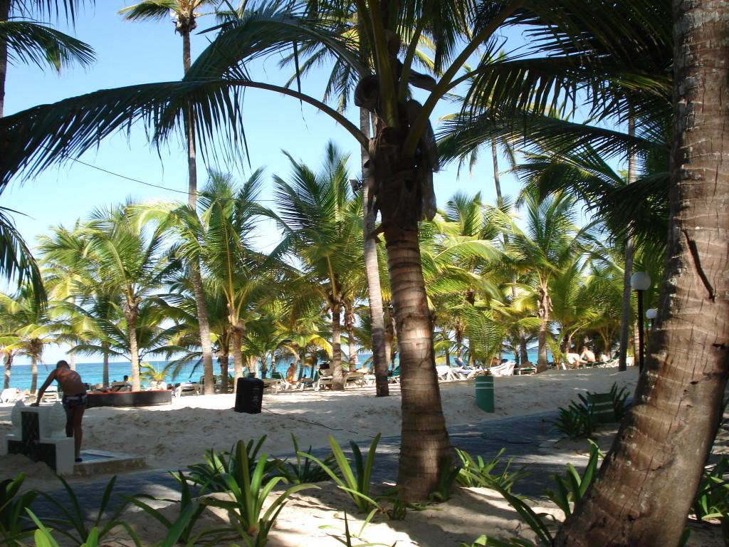 Плажът Баваро в Доминиканската република
