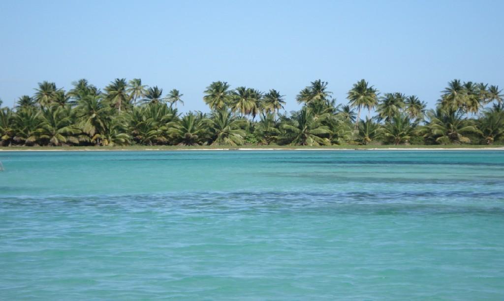 Бреговете на остров Саона