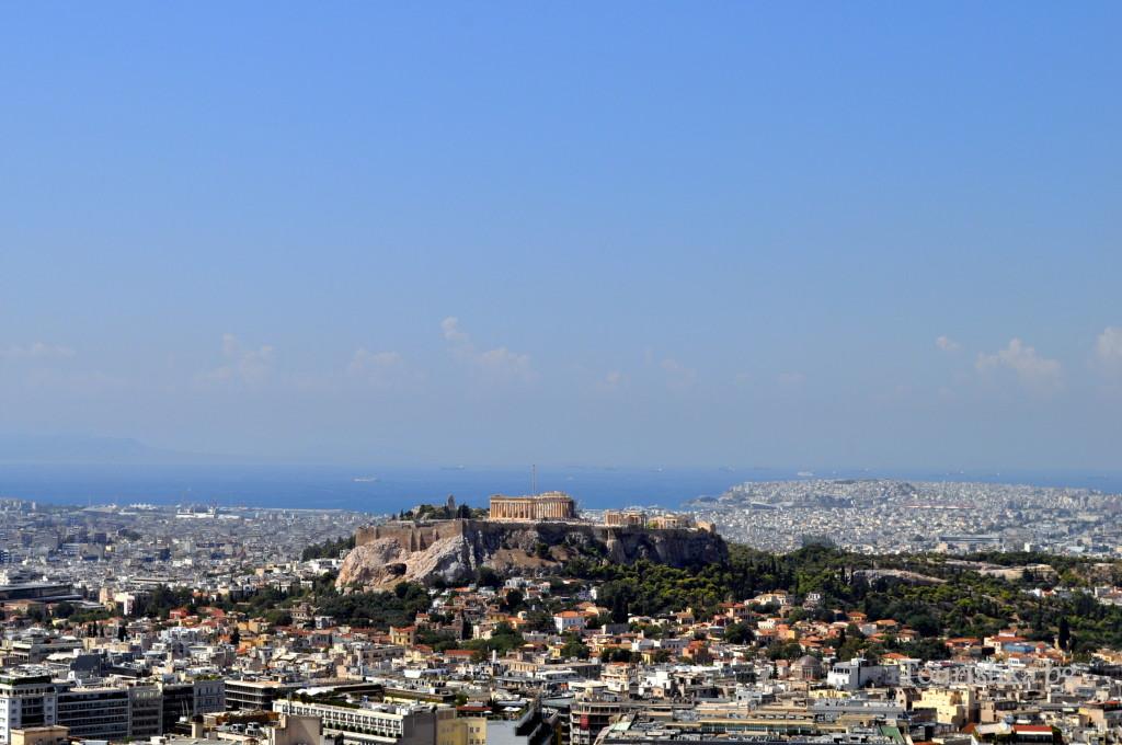 Гледка от хълма Ликабетус