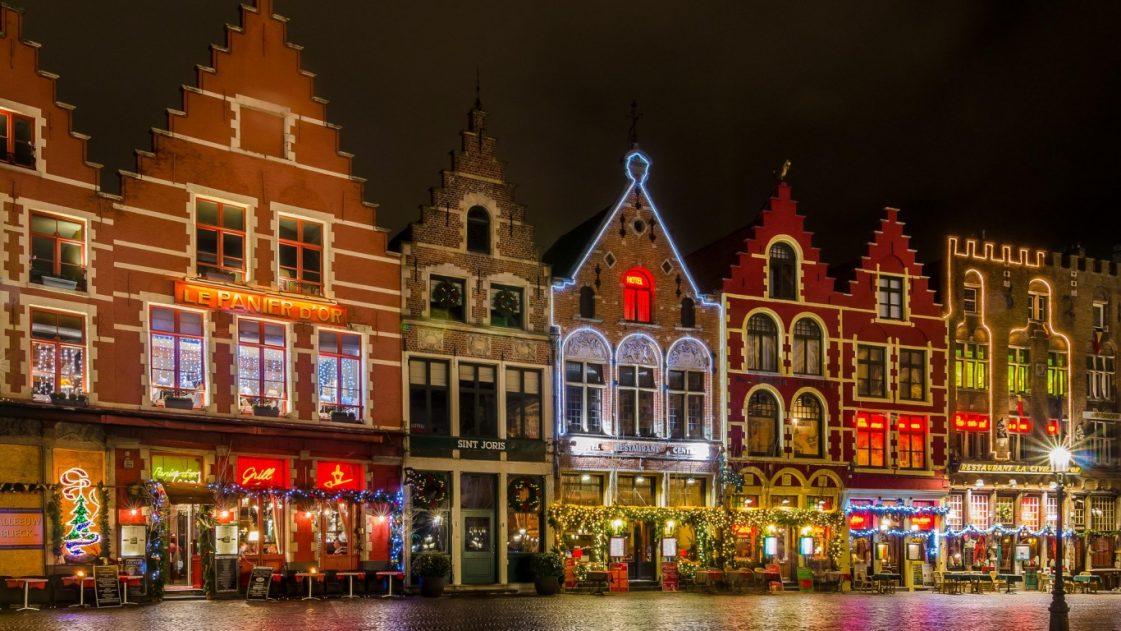 8. Коледа в Брюж, Белгия