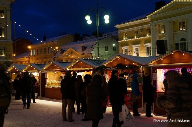 7. Коледа в Хелзинки, Финландия