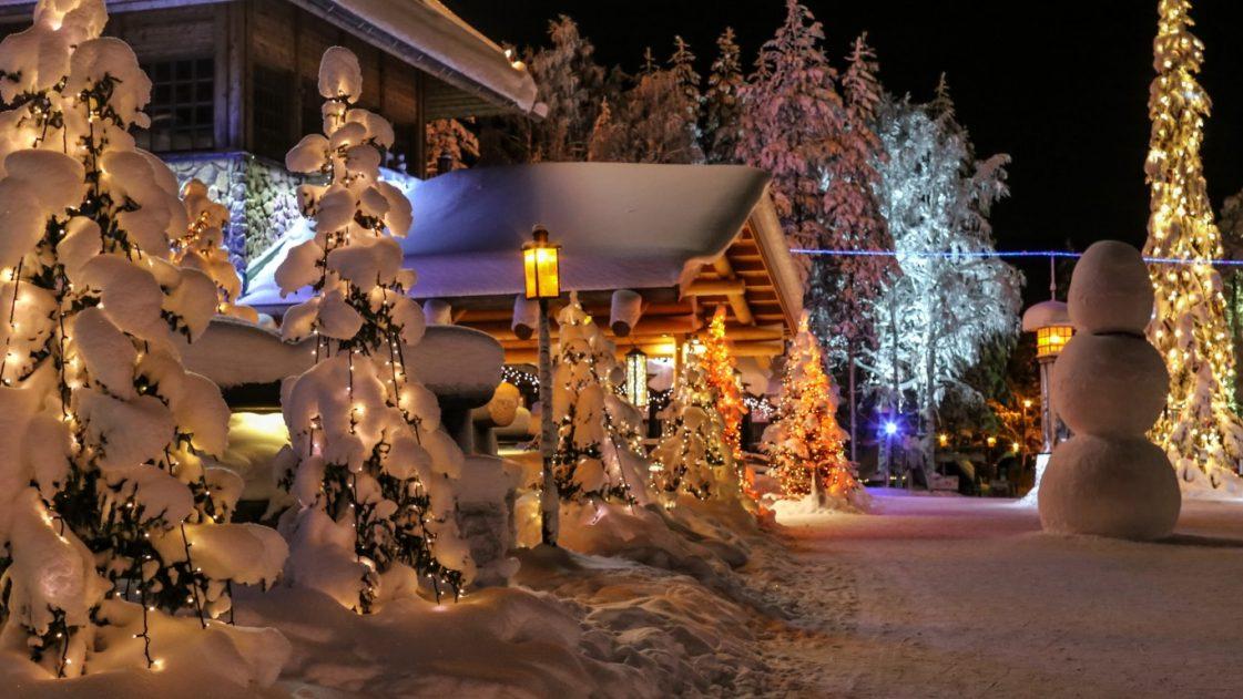 3. Коледа в Лапландия, Финландия