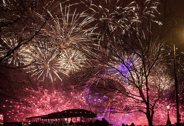 New-year-London
