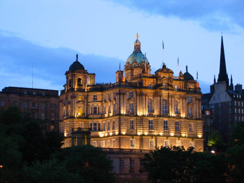 Сградата на Националната банка на Шотландия