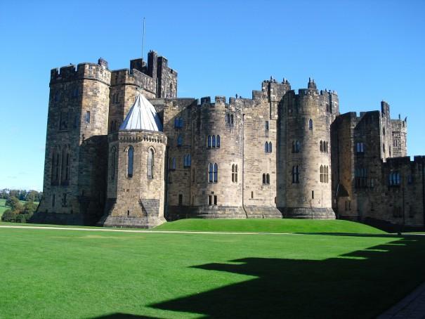 алнуик-замък-англия