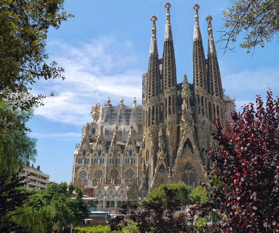 Символът на Барселона - Саграда Фамилия