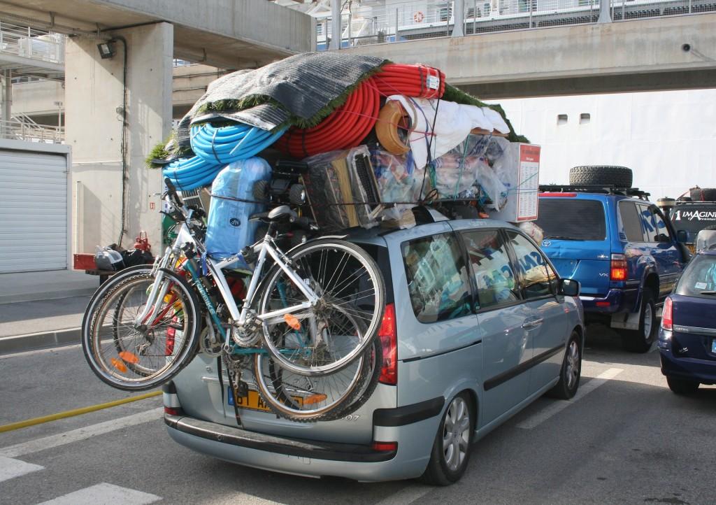 Ако обичате да пътувате с подобен багаж, значи автомобилът и по-близките дестинации са вашата предопределеност